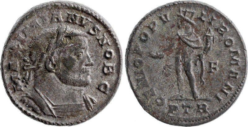 Roman Empire Follis, Galerius as Caesar (293-305) - Genio Populi Romani