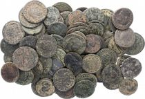 Roman Empire Lot of 10 Roman coins in bronze