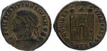 Roman Empire Nummus,  Constantine II - 326-328 Thessalonica - PROVIDENTIAE CAESS - XF