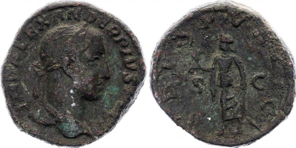 Roman Empire Sesterce, Alexandre Sévère (221-235)