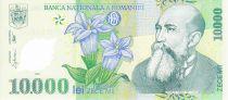 Romania 10000 Lei Nicolae Iorga - Eagle, church