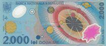 Romania 2000 Lei Sun Eclipse - 1999