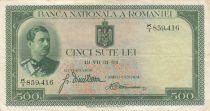 Romania 500 Lei Carol II - 1934 - VF - P.36