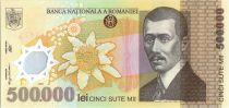 Romania 500000 Lei Aurel Vlaicu - Aigle, Edelweiss - 2000 Polymer