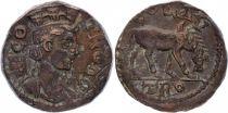 Rome - Provinces 1 As, Alexandrie Troade - Tychè - Cheval 250-268