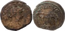Rome (Provinces) 1 As, Alexandrie (Troade) - Tychè, Cheval (250-268)