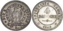 Rome 4 Baiocchi - Roman Republic -1849 R