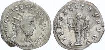 Rome Empire Antoninien,  Gallien - 255 Viminacium - LIBERALITAS AVGG - TTB+