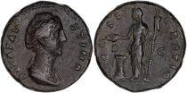 Rome Empire As, Faustine Mère - CONSECRATIO