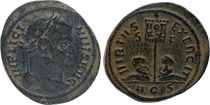 Rome Empire Centenionalis,  Licinius - 320 Aquilée - VIRTVS EXERCIT - TTB+