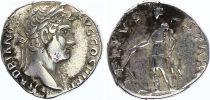 Rome Empire Denier,  Hadrien - 133 Rome - TELLVS STABIL - TTB