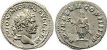 Rome Empire Denier, Caracalla (197-217) - P M TR P X VII COS IIII P P