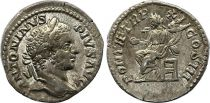 Rome Empire Denier, Caracalla (197-217) - PONTIF TRP XII COS III