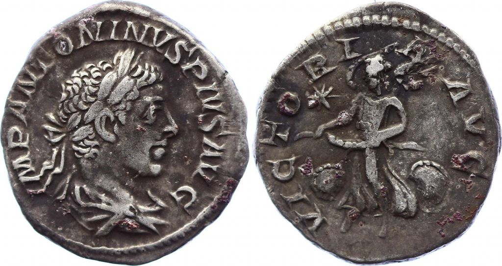 Rome Empire Denier, Elagabale (218-222) - VICTORI AVG