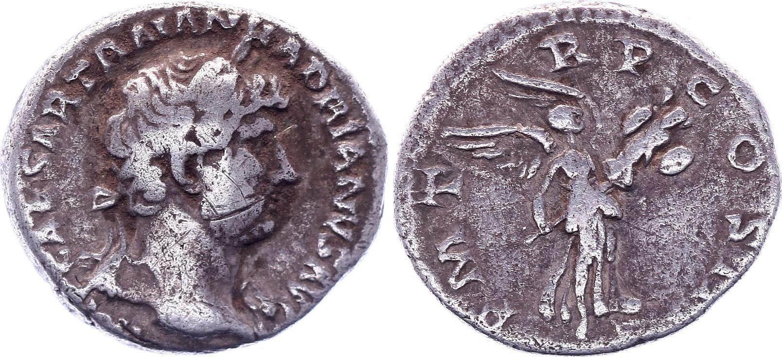 Rome Empire Denier, Hadrien - 123 Rome