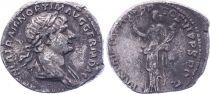 Rome Empire Denier, Trajan - 116-117 Rome
