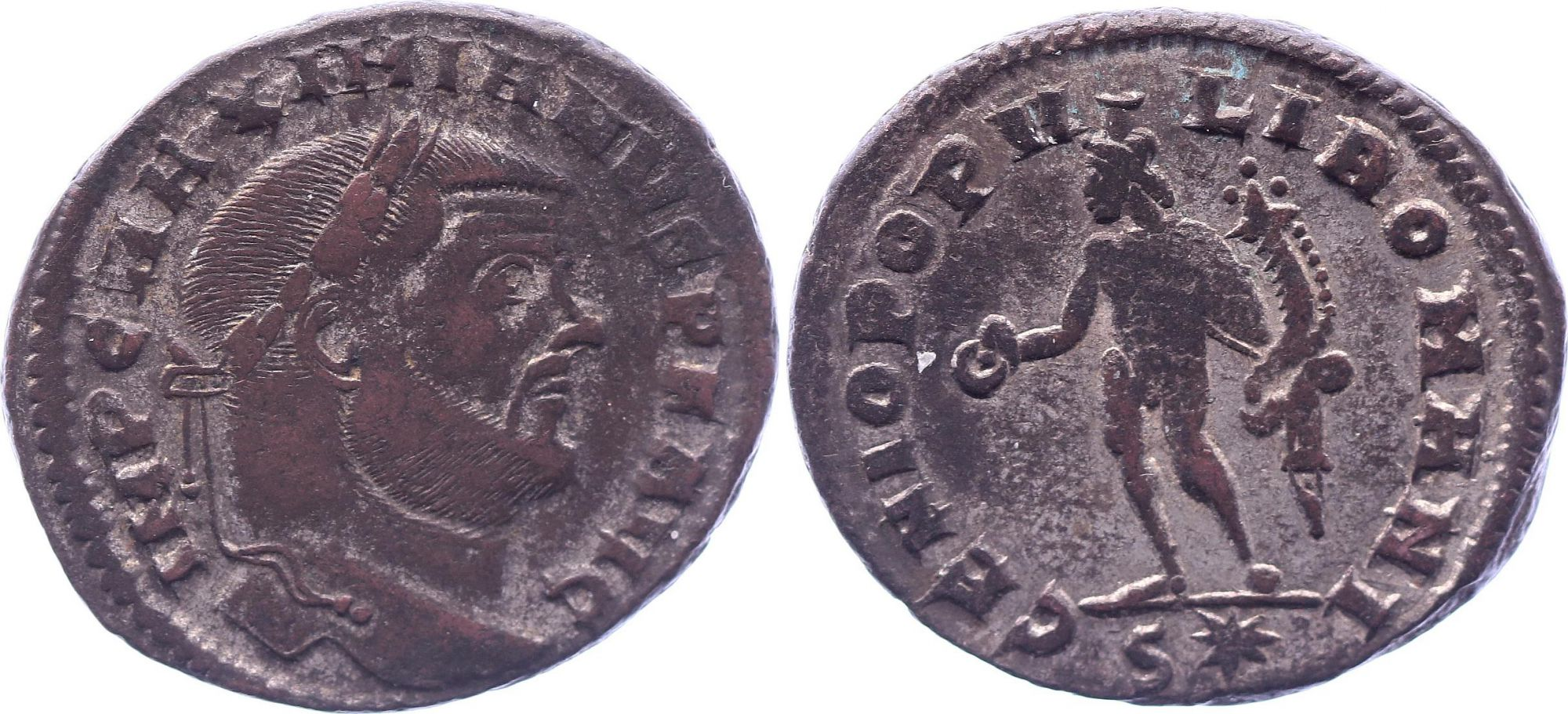 Rome Empire Follis, Maximien Hercule (286-305) - Genio Populi Romani - Lyon