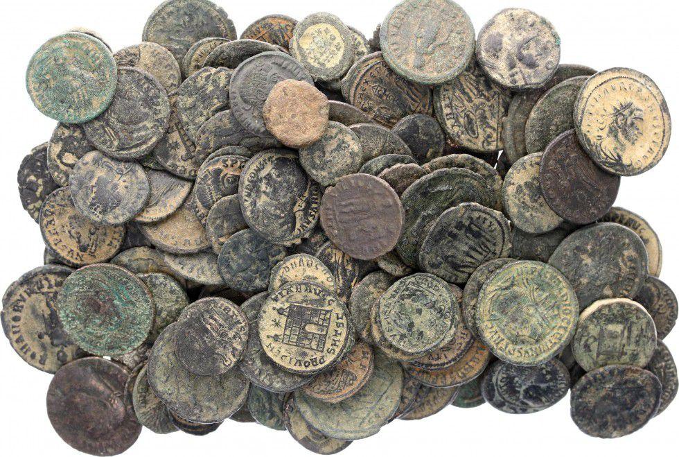 Rome Empire Lot de 10 pièces Romaines en Bronze