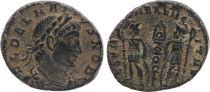 Rome Empire Nummus,  Delmace (335-337) - GLORIA EXERCITVS - TTB+