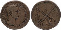 Rome Empire Padouan imitant un Sesterce de César - TB+