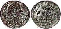 Rome Empire Sesterce, Antonin Le Pieux (138-161) - ANTONINVS AVG PIVS PP TR P - COS II