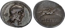 Rome Rép Denier,  Calpurnia -90 Rome TB+