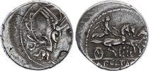 Rome Rép Denier,  Claudia -111 à -110 Rome TTB