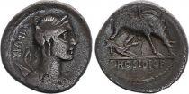 Rome Rép Denier,  Hosidia -68 Rome TB