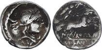 Rome Rép Denier,  Junia -91 Rome TB