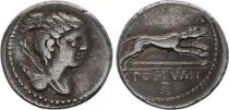 Rome Rép Denier,  Postumia -74 Rome TTB