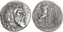 Rome Rép Denier,  Vibia -48 Rome TB+