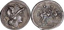 Rome République Denier,  Anonyme - 211 BC Rome