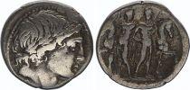 Rome République Denier,  Memmia -109 à -108 Rome TB+
