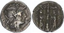 Rome République Denier,  Minucia -134 Rome TB+