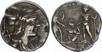 Rome République Denier,  Veturia -137 Rome TTB