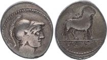 Rome République Denier, L. Rvsti Tête de Mars -76