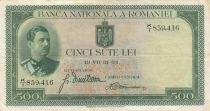 Roumanie 500 Lei Carol II - 1934 - TTB - P.36