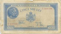 Roumanie 5000 Lei Portrait d´hommes