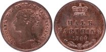 Royaume-Uni 1/2 Farthing Victoria - 1844