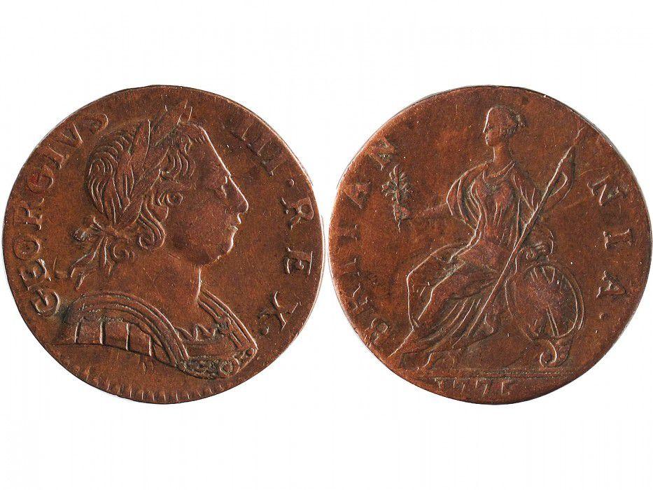 Royaume-Uni 1/2 Penny Georges III