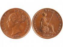Royaume-Uni 1/2 Penny Victoria