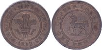 Royaume-Uni 1 Penny - Birmingham South Wales - 1812 - Copper Token