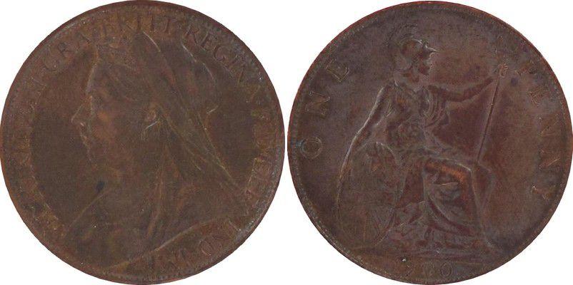 Royaume-Uni 1 Penny Victoria