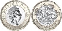 Royaume-Uni 1 Pound Elisabeth II - 2016