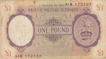 Royaume-Uni 1 Pound ND1943-45 - Série 41K