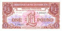 Royaume-Uni 1 Pound ND1956 - Marron violet et rose