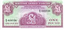 Royaume-Uni 1 Pound ND1956 - Violet et vert