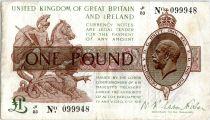 Royaume-Uni 1 Pound Roi George V et St George - 1922 - J1 83