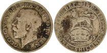 Royaume-Uni 1 Shilling 1915 - Lion, couronne, George V, argent