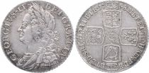 Royaume-Uni 1 Shilling George II (1727-1760) - Armoiries 1758